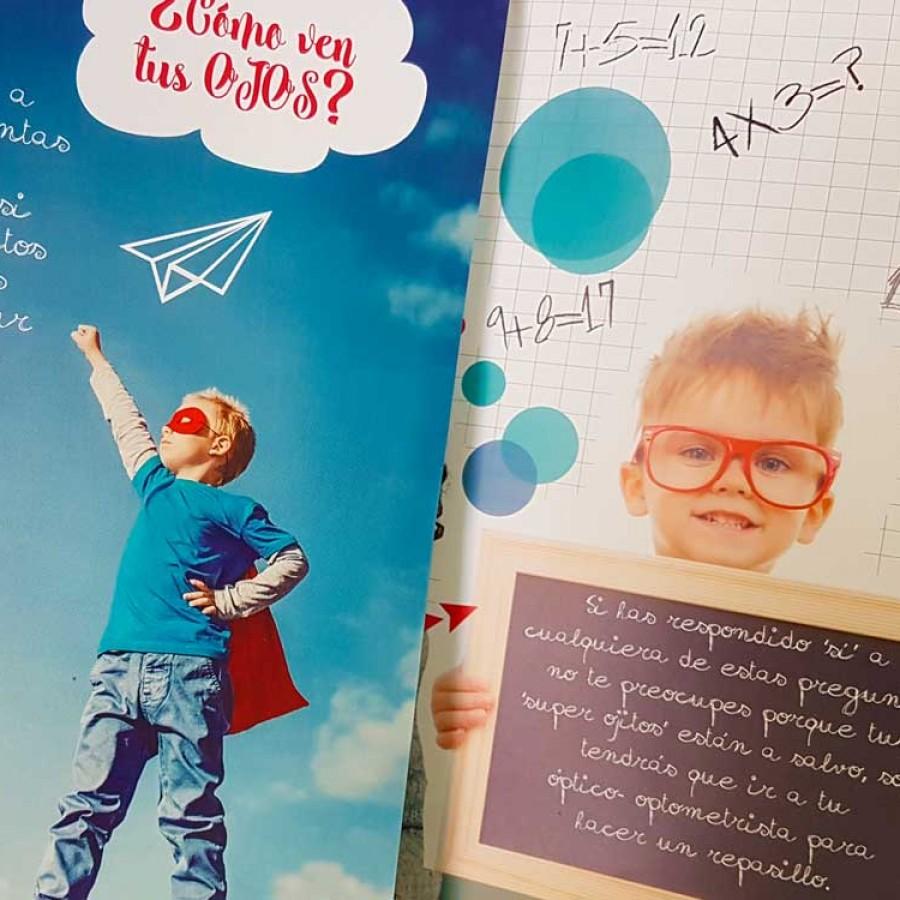 Colegio ópticos optometristas de Castilla y León - Campaña publicitaria