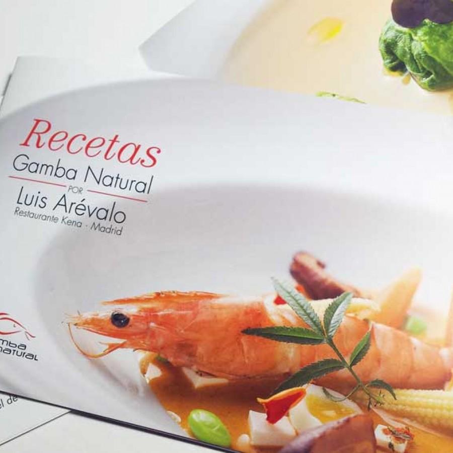 Gamba Natural - Libro de recetas