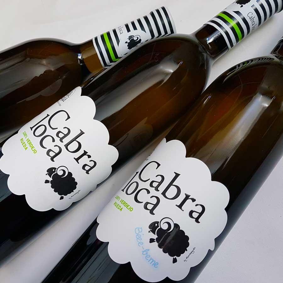 Cabra loca - Etiqueta de vino