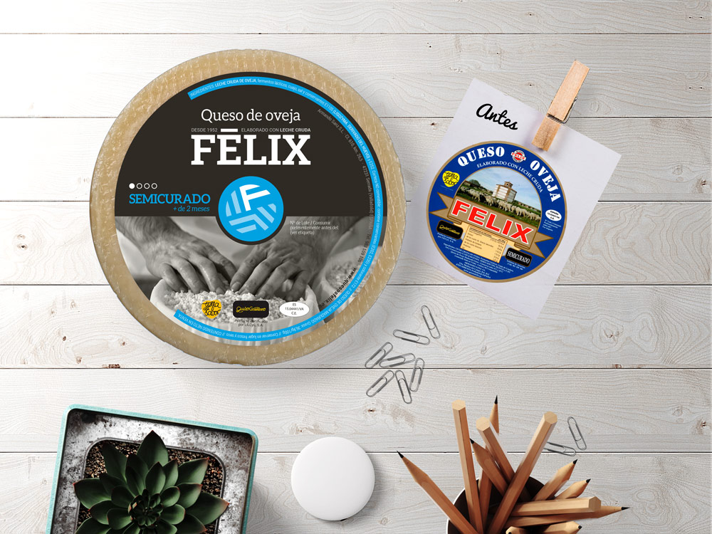 Quesos Félix - Etiquetas