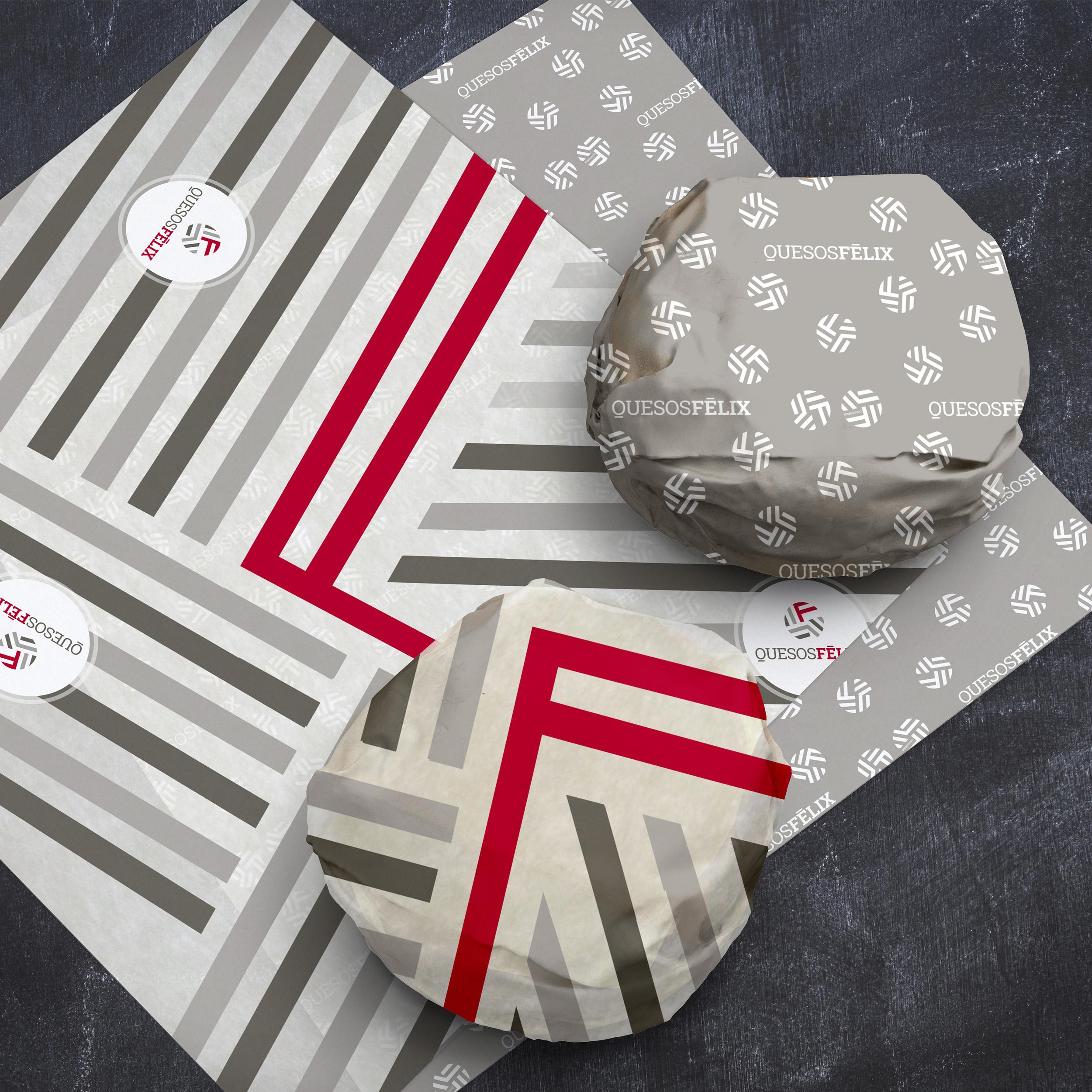 Quesos Félix - Papel de regalo